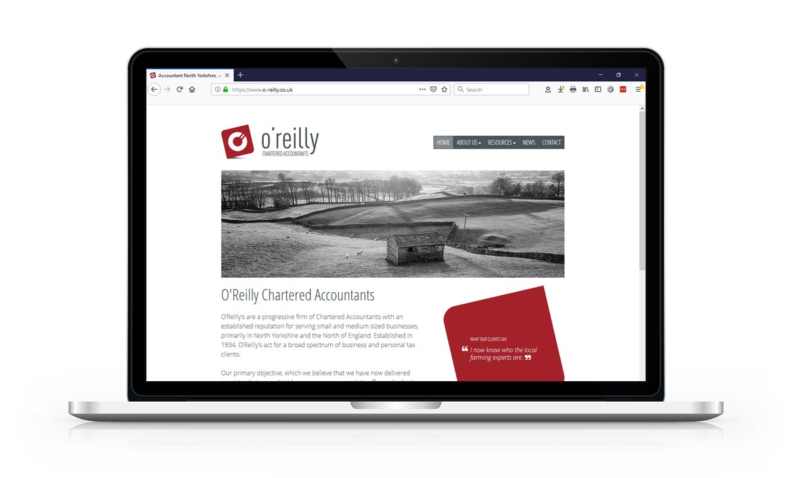 Image: O'Reilly Chartered Accountants